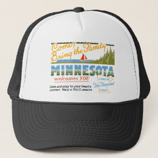 Minnesota - Land of Ten Thousand Lakes Trucker Hat