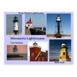 Minnesota Lighthouses Postcard