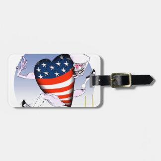 minnesota loud and proud, tony fernandes bag tag
