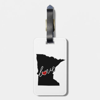 Minnesota Love!  Gifts for MN Lovers Luggage Tag