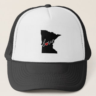 Minnesota Love!  Gifts for MN Lovers Trucker Hat