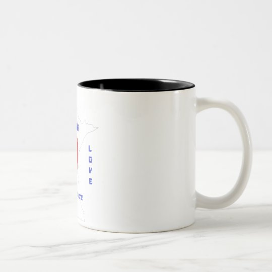 Minnesota Love Two-Tone Coffee Mug
