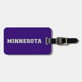 Minnesota Luggage Tag