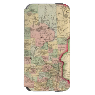 Minnesota Map by Mitchell Incipio Watson™ iPhone 6 Wallet Case