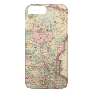 Minnesota Map by Mitchell iPhone 8 Plus/7 Plus Case