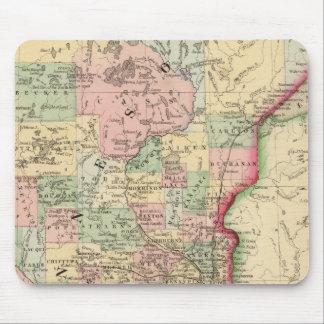 Minnesota Map by Mitchell Mouse Mat