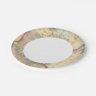 Minnesota Map by Mitchell Paper Plate
