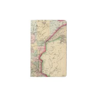 Minnesota Map by Mitchell Pocket Moleskine Notebook