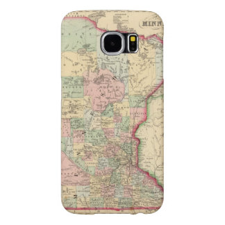 Minnesota Map by Mitchell Samsung Galaxy S6 Cases