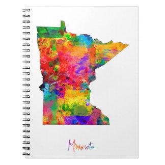 Minnesota Map Notebooks