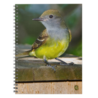 Minnesota, Mendota Heights, Great-crested Spiral Notebook