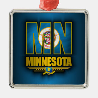 Minnesota (MN) Christmas Ornament
