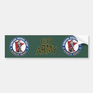 Minnesota National Guard Bumper Sticker