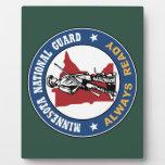 Minnesota National Guard Photo Plaques