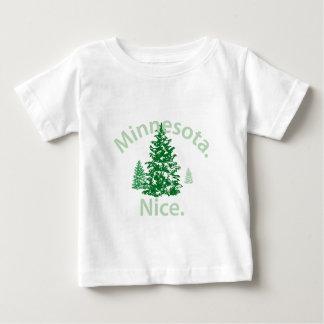 Minnesota Nice.  Period! Baby T-Shirt