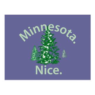 Minnesota Nice.  Period! Postcard
