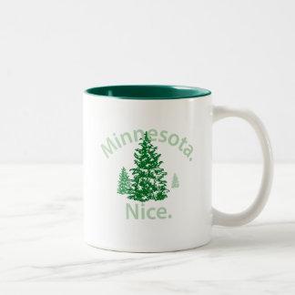 Minnesota Nice.  Period! Two-Tone Coffee Mug