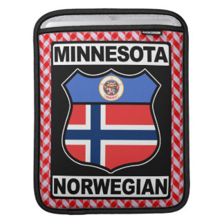Minnesota Norwegian American iPad Cover