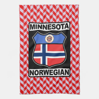 Minnesota Norwegian American Tea Towels