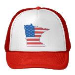 Minnesota Patriotic Hat Mesh Hat