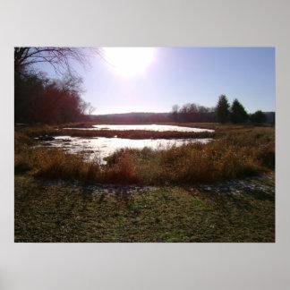 Minnesota Pond Poster
