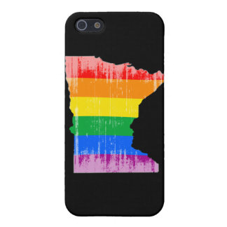 MINNESOTA PRIDE - DISTRESSED -.png Case For The iPhone 5