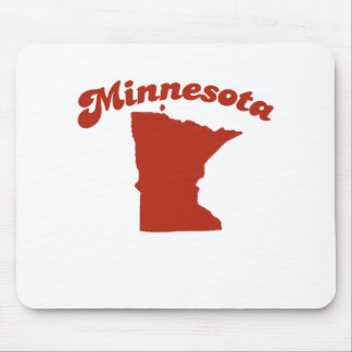 MINNESOTA Red State Mouse Pad