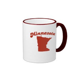 MINNESOTA Red State Ringer Mug