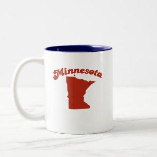 MINNESOTA Red State Two-Tone Mug