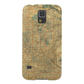 Minnesota road map galaxy s5 cover