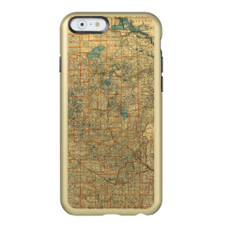 Minnesota road map incipio feather® shine iPhone 6 case