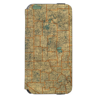 Minnesota road map incipio watson™ iPhone 6 wallet case