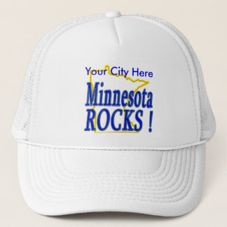 Minnesota Rocks ! Trucker Hat