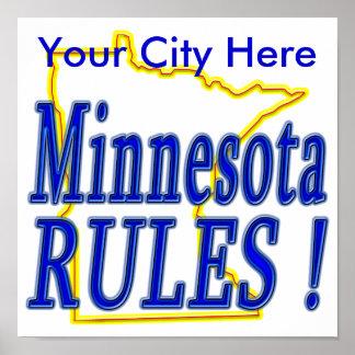 Minnesota Rules ! Poster