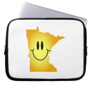Minnesota Smiley Face Laptop Computer Sleeves