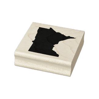 Minnesota Solid Rubber Art Stamp