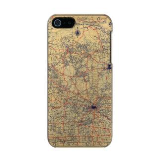 Minnesota standard map incipio feather® shine iPhone 5 case