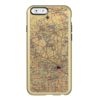 Minnesota standard map incipio feather® shine iPhone 6 case