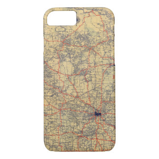 Minnesota standard map iPhone 8/7 case