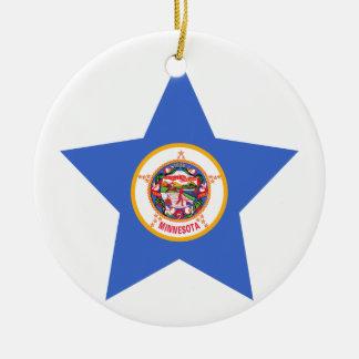Minnesota Star Christmas Ornament
