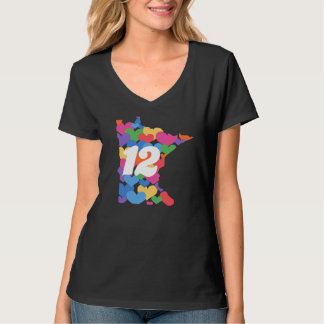 Minnesota State #12 for Same-sex Marriage! T-Shirt