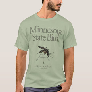 Minnesota State Bird The Mosquito T-Shirt