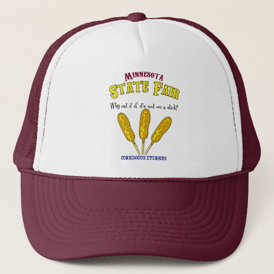 Minnesota State Fair Food-On-A-Stick Shirt Cap