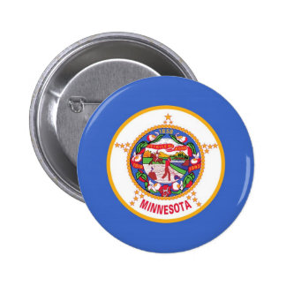 Minnesota State Flag Button