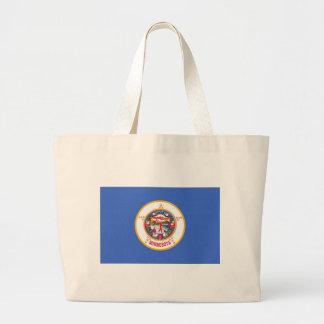 Minnesota State Flag Tote Bags