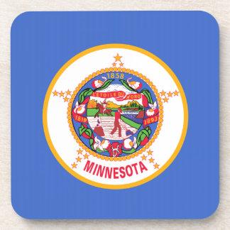Minnesota State Flag Drink Coasters