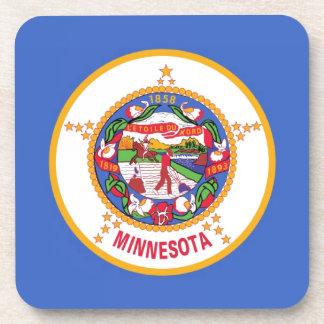 Minnesota State Flag Drink Coaster