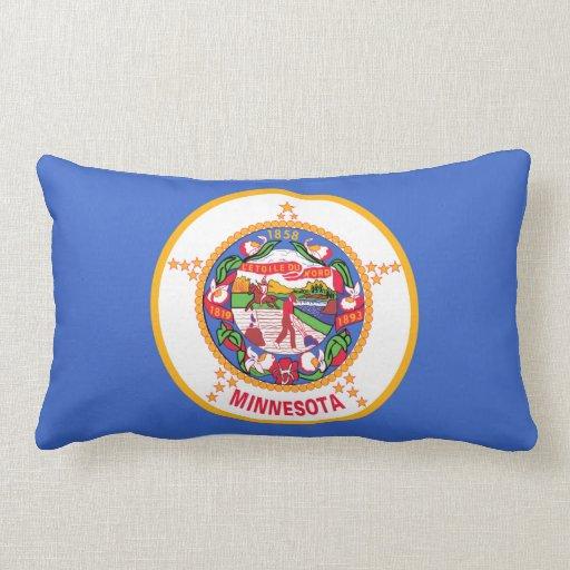 Minnesota State Flag Pillow