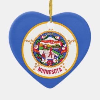 Minnesota State Flag Christmas Tree Ornament