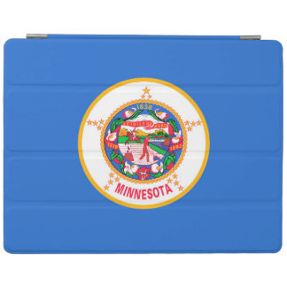 Minnesota State Flag Design Decor iPad Cover